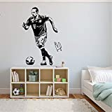 stickers muraux geant dragon ball z Franck Ribery Joueur de foot France Creativ Autocollant Sport