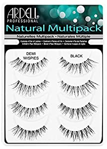 Ardell Professional Demi Wispies Natural Multipack (4 Pairs of Lashes) by Ardell