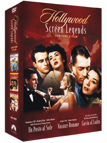 Hollywood screen legend - Un posto al sole + Vacanze romane + Caccia al ladro