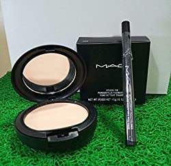 Mac combo offer with Mac compact and Mac shiny sketch kajal