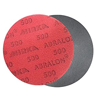 Mirka Bowling Abralon Pad 500 Grit - Schleifpad - 150mm Durchmesser - Klett-Rückseite