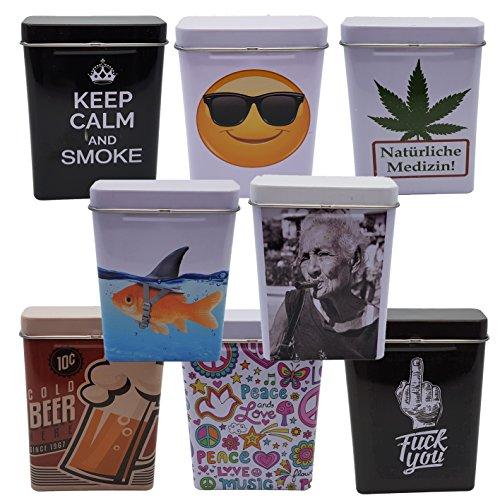 Bada Bing Zigarettendose Zigarettenetui Zigarettenbox Hardcase Metal