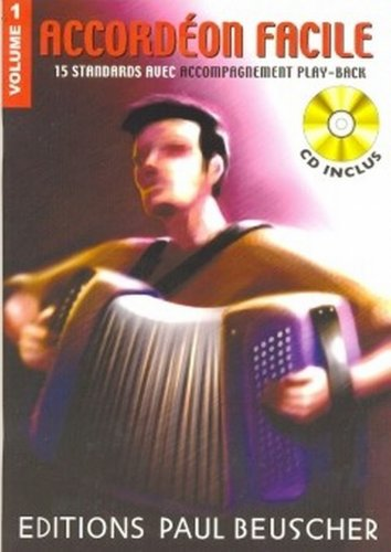 Partition : Accordeon facile volume 1 + CD
