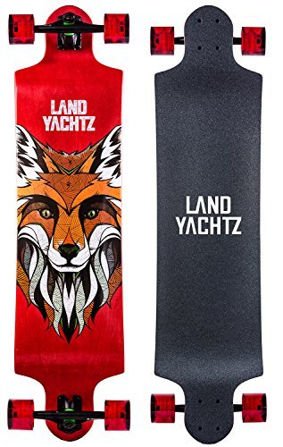 Landyachtz Switch 40 Longboard Complete Skateboard. Dropped deck freeriding exceptionally staple symmetrical design by Landyachtz