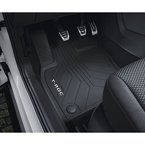 Preisvergleich Produktbild Volkswagen 2GA06150082V Allwetterfußmatten Gummi Fußmatten 4X Gummimatten, Schwarz