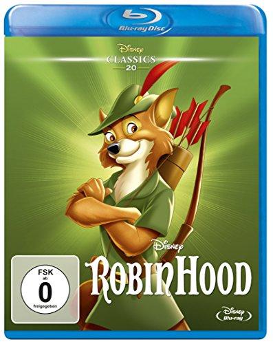 Robin Hood - Disney Classics [Blu-ray] Standard Dvd-box