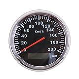 Baoblaze 200 Km GPS-Geschwindigkeitsmesser-Messgerät-Installationssatz Auto GPS Antenne Tacho Speedometer