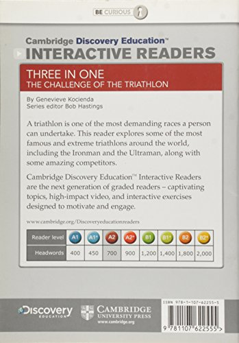 Three in One: The Challenge of the Triathlon Low Intermediate Book with Online Access (Cambridge Discovery Interactiv)