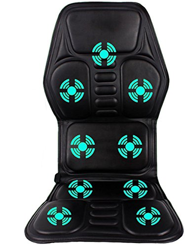D&F Shiatsu Massagesitzauflage/Massage Stuhl, 9 Gruppen Magnettherapie Massage, Dauerheizung GZ-7 Zu Hause, BüRo Und Auto