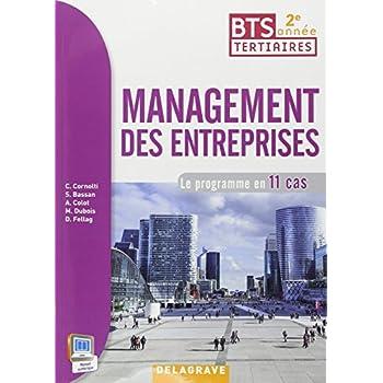 Management des entreprises 2e année BTS : Livre de l'élève