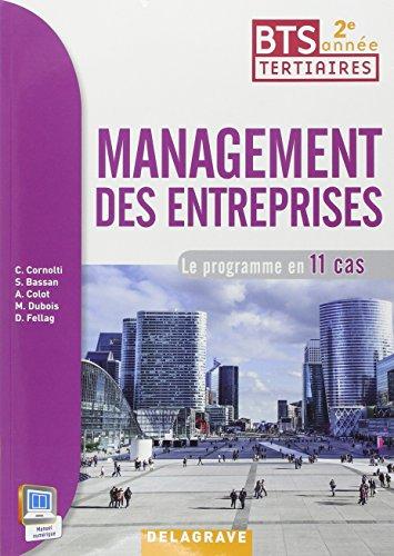 Management des entreprises 2e année BTS : Livre de l'élève par Christophe Cornolti