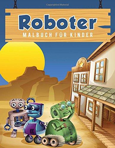 Roboter Malbuch für Kinder