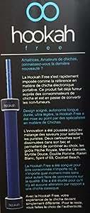 HOOKAH FREE BLEU : CHICHA ELECTRONIQUE sans tabac sans nicotine