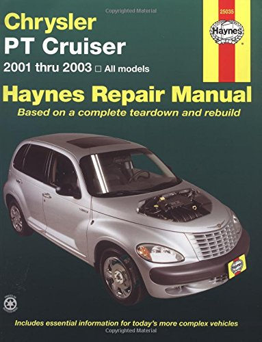 Chrysler Pt Cruiser Automotive Repair Manual (Hayne's Automotive Repair Manual) (Haynes Pt Cruiser)