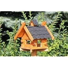 ... decorados imitando madera y tejas. Casa de pájaros con bitumenschindel tipo 7 - Negro
