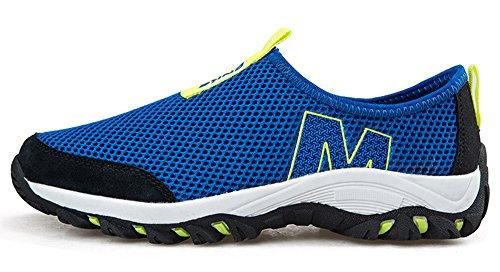Gaatpot Uomo Donna Maglia Traspirante Scarpe da Sportive Running Ginnastica Sneakers Immersione Scarpe Blu