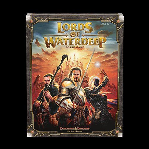 Wizards of the Coast 5513165 Lords of Waterdeep a Dungeons and Dragons Board Game