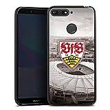 DeinDesign Huawei Y6 Prime 2018 Silikon Hülle Case Schutzhülle VfB Stuttgart Fanartikel Stadion