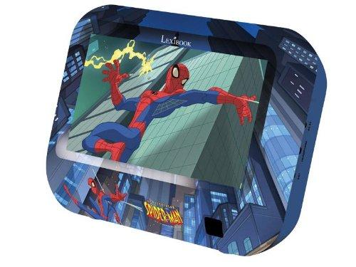 Lexibook DMPTV1SPFR - Spider-Man Mini LCD-TV mit DVB-T - Mpeg4 Digital Video
