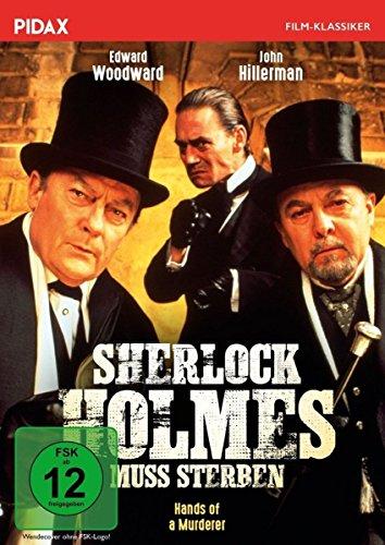 Sherlock Holmes muss sterben (Hands of a Murderer) / Spannende Sherlock-Holmes-Verfilmung mit mit Edward Woodward und John Hill