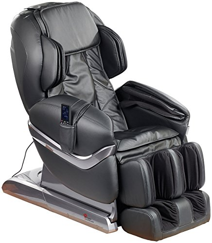 Newgen Medicals Massagestühle Ganzkörper-Massagesessel GMS-150 mit Infrarot-Wärme, schwarz (Elektrische Massagesessel)