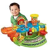 Siyushop Traccia Parcheggi Toy Set Assemblaggio Traccia Car Bambino Ragazzo Giocattolo Smart Wheels Parcheggia e impara Deluxe Garage