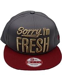 New Era 9Fifty Snapback Cap - SORRY I'M FRESH grau