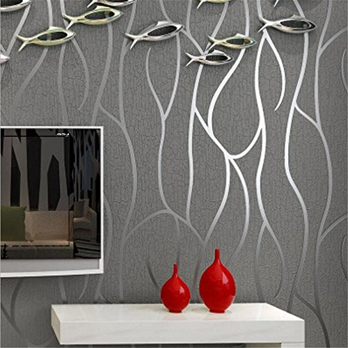 Wprbzh 3d Wallpaper Mural Tv Bedside Background Wall Pattern Wallpaper Home Decor Velor Curve Thick Waterproof