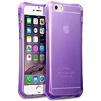 iPhone 6S Case, Terrapin TPU Schutzhülle Tasche Case Cover für iPhone 6 / 6S Hülle Transparent Lila