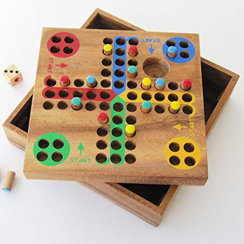 JEU DU DADA à partir de 5 ans, jeu de société familial de parcours en bois massif avec dé aux...