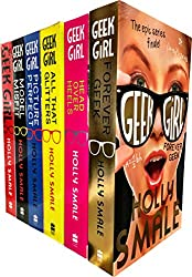 Geek Girl Collection 6 Books Set, By Holly Smale (Geek Girl Series) (Book 1-6)