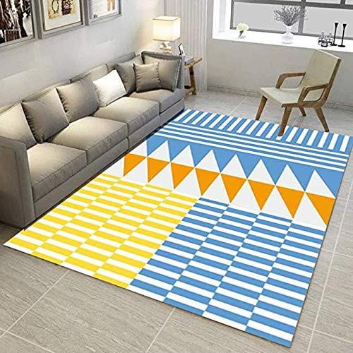 Ultra-moderne-couchtische (MMMMM Teppich Nordic geometrische einfache Moderne Tür Pad Wohnzimmer Couchtisch Sofa Schlafzimmer Nachttisch Kissen rechteckige rutschfeste Matte,3,120 * 160CM)