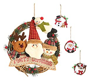 YZCX Guirnalda de Navidad 4