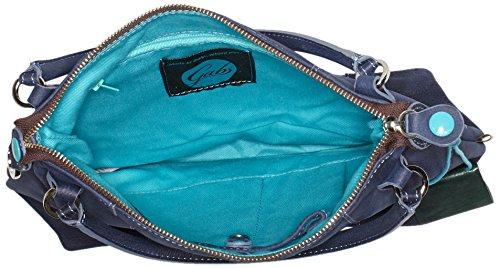 GABS - Gsac, Borse a spalla Donna Blu (Blue)