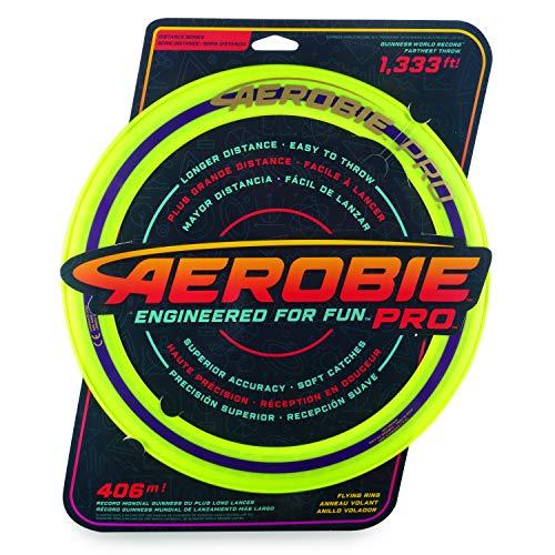 Aerobie - 6046387- Pro Flying Ring Wurfring mit Durchmesser 33cm, farblich sortiert