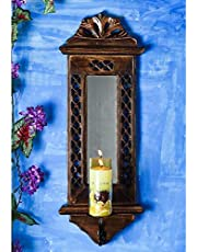 Vcare Decoration Antique Style Wall Mirror for Living Room/Bedroom - Gift Item (19 x 6 Inches)