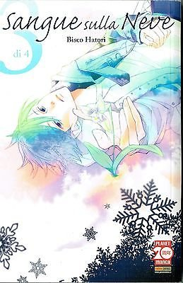 Sangue sulla neve 3 di B.Hatori ed. Planet Manga SCONTO 50%