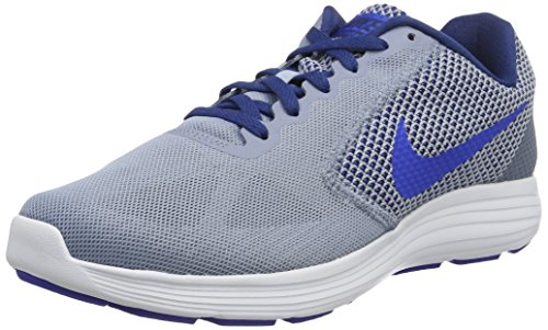 Nike Men's Revolution 3 Cool Blue, Hyper Cobalt and Coastal Blue Running Shoes - 9 UK/India (44 EU)