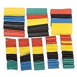 328 Stücke 5 Farben 8 Größen 2: 1 Wärmeschrumpfschläuche Wrap Verbindungshülse Kit Heißer Verkauf Super Angebote