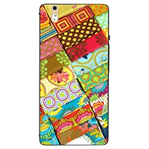 Case Cover Printed Multicolor Hard Back Cover For InFocus M810