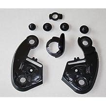 SHOEI CX-1 Mechanik mit Schrauben Set passend für den SHOEI Helm Syncrotec II / XR-900 / XR-800 / RF-700 / Raid / Z-One / Interceptor / X-Creed I + II