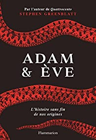 Adam & Ève par Stephen Greenblatt
