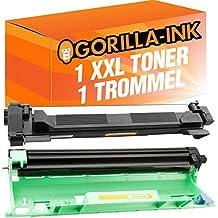 Gorilla de Ink® 1Toner & Drum XXL compatible con Brother DR de 1050TN-1050DCP-1510HL-1112Series MFC-1810mfc-1815MFC MFC-1910W MFC de 1911nw