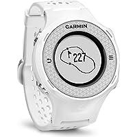 Garmin Approach S4 GPS Golf Watch Distance Rangefinder Shot Counter Digital Scorecard - White (Certified Refurbished)