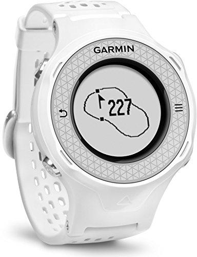 Garmin Approach S4 GPS Golf Watch Distance Rangefinder Shot Counter Digital Scorecard – White (Certified Refurbished)