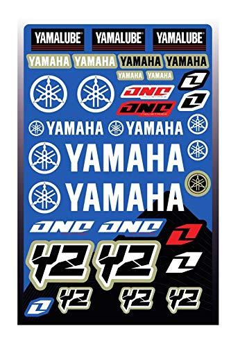 KIT STICKERS FOX ADESIVI YAMAHA YZ YZF SPONSOR MOTO HONDA KTM CROSS ENDURO CASCO (65)