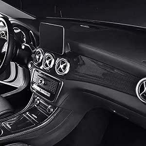 Shes Carbon Style Abs Auto Mittelkonsole Klimaanlage Panel Dekoration Abs Für Gla X156 Cla C117 2013 19 Auto