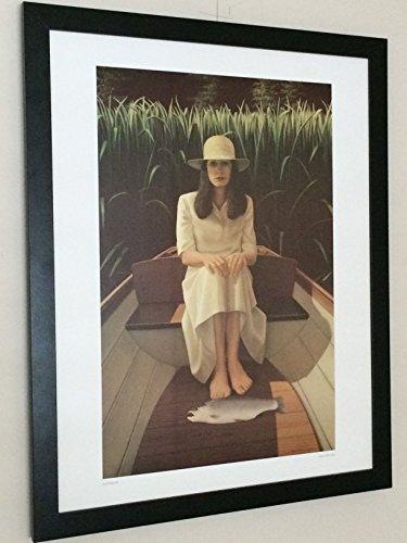 Rainbow - vintage posters - Neil Moore-43cmx29cm fishing Druck