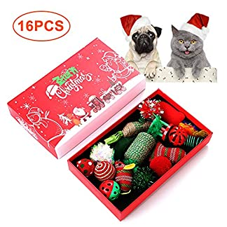 16 pieces cat toys set cat training toy chew toy cat feather toy feather toys sisal plush balls xmas interactive funny kittens toys 16 Pieces Cat Toys Set Cat Training Toy Chew Toy Cat Feather Toy Feather Toys Sisal Plush Balls Xmas Interactive Funny Kittens Toys 51KPc25xpJL