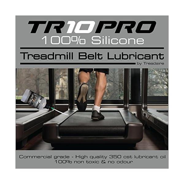 Il migliore Olio Lubrificante Silicone per Tapis Roulant TR10Pro 100% per Tapis Roulant Controllo Extra Lungo 500 ml… 4 spesavip
